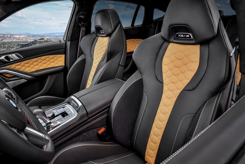 Sedili di BMW X6 M
