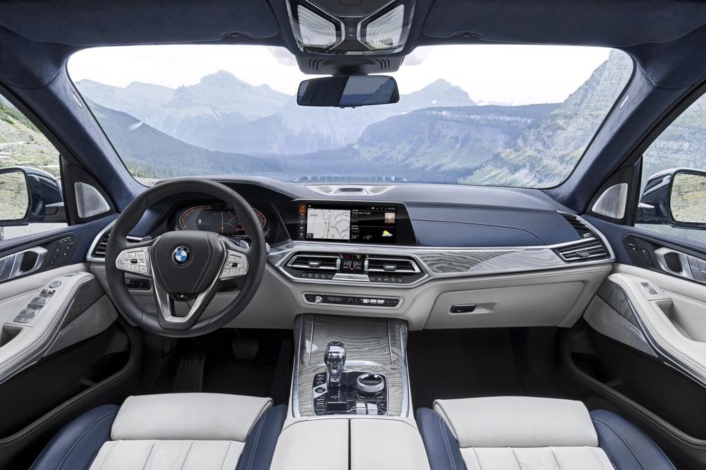 BMW X7 Live Cockpit 12 pollici