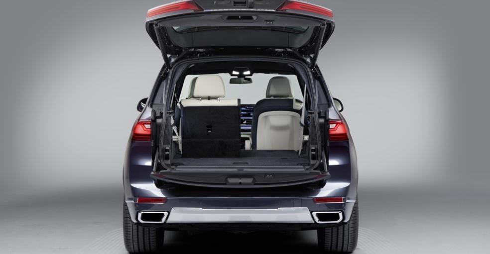 Bagagliaio di BMW X7