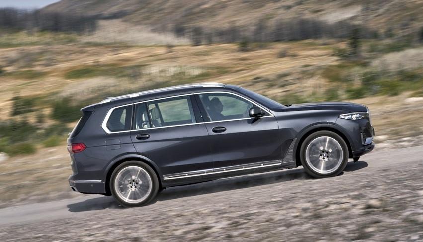 Dimensioni di BMW X7