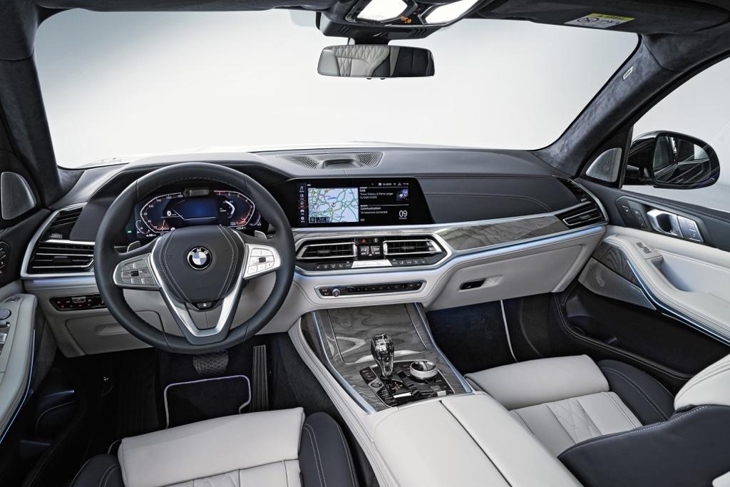 Interni di BMW X7