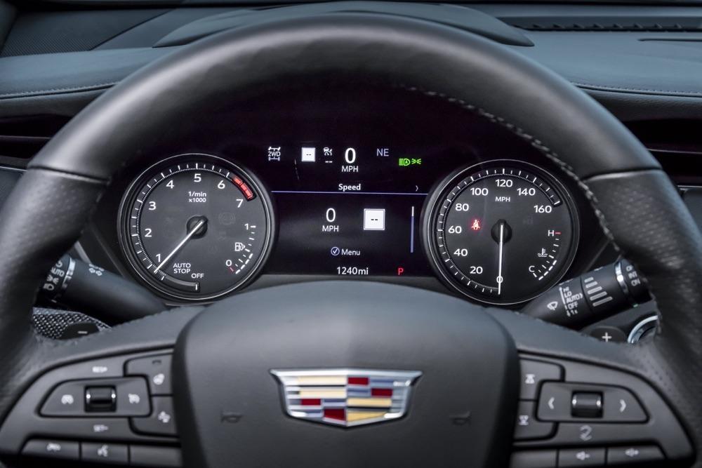 ADAS del suv Cadillac XT4 2020