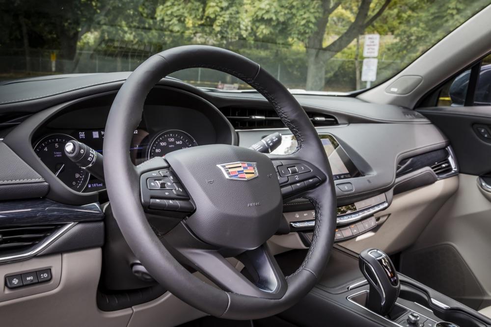 Cambio del suv Cadillac XT4 2020