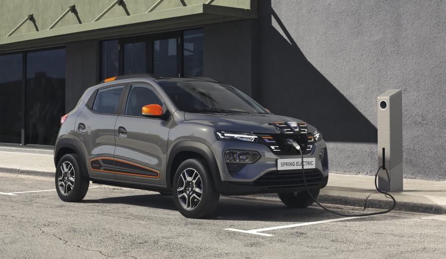 Autonomia di Dacia Spring elettrica