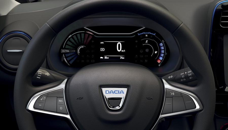Prestazioni di Dacia Spring elettrica