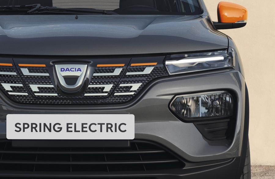 Uscita di Dacia Spring elettrica