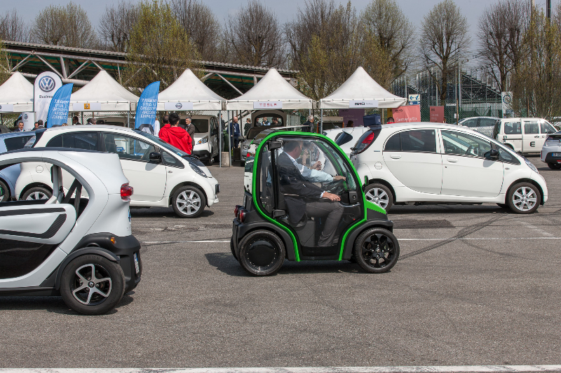 E-vehicles fleet day