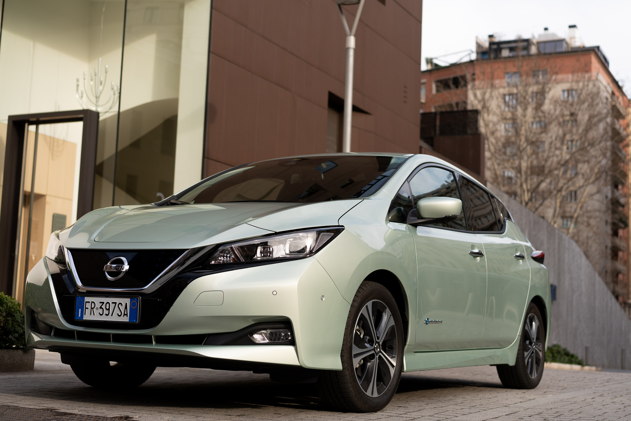 Design Nissan LEAF
