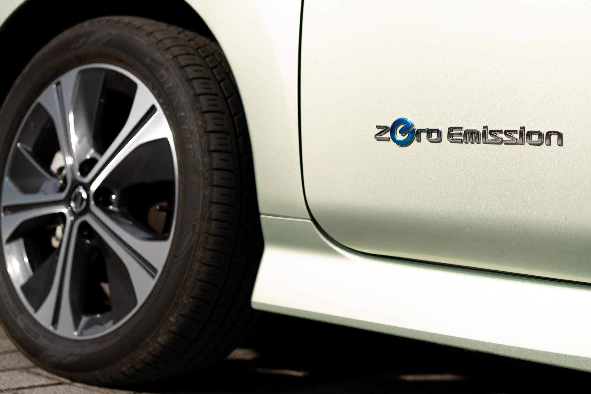 Nissan LEAF Zero emissioni