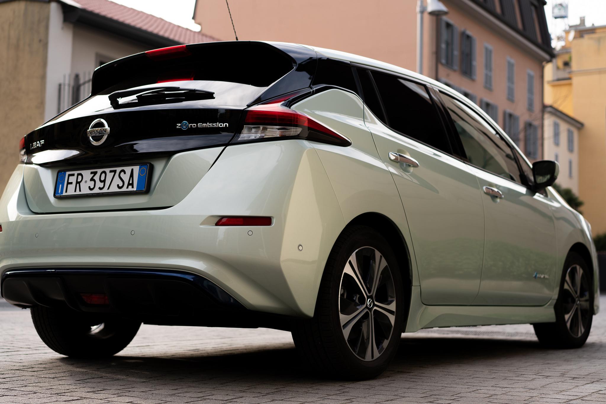 Bagagliaio Nissan LEAF