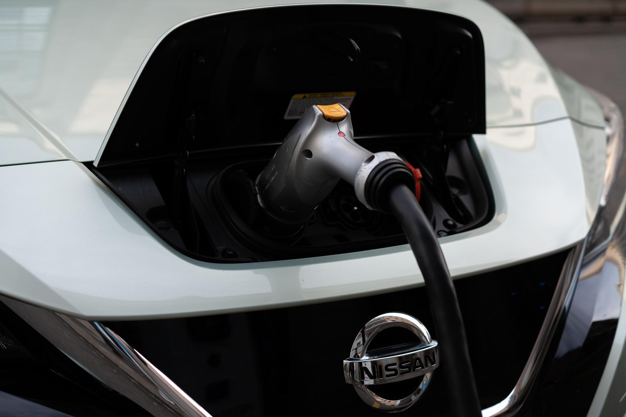 Costo ricarica elettrica Nissan LEAF