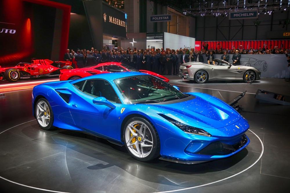Caratteristiche di Ferrari F8 Tributo