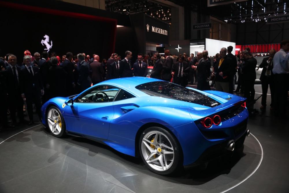 Motore di Ferrari F8 Tributo