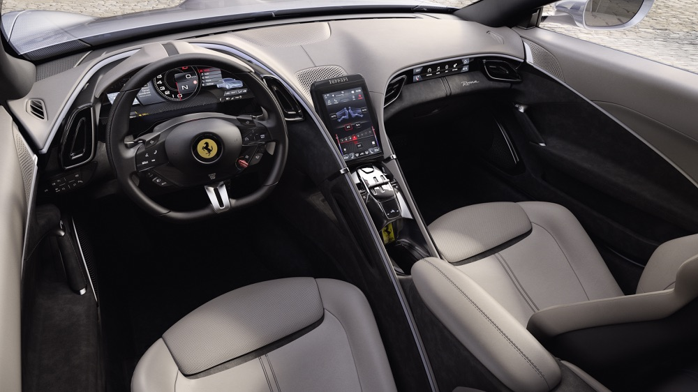 Interni di Ferrari Roma