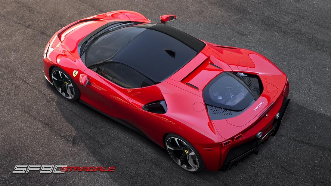 Ferrari SF90 Stradale ibrida plug-in