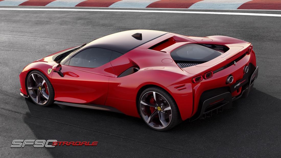 Motore di Ferrari SF90 Stradale