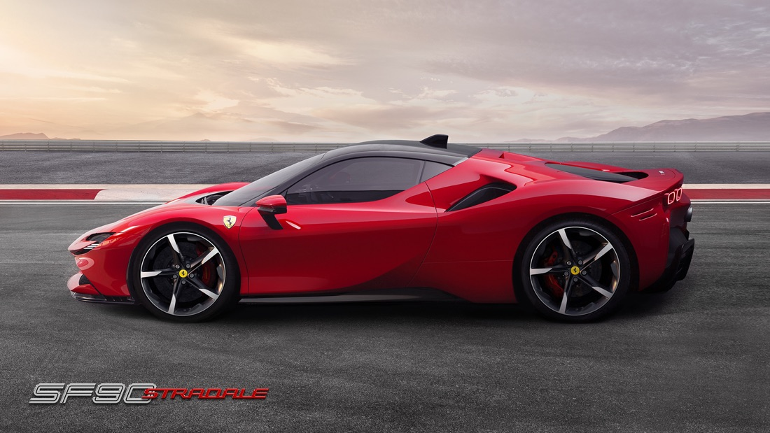 Prestazioni di Ferrari SF90 Stradale
