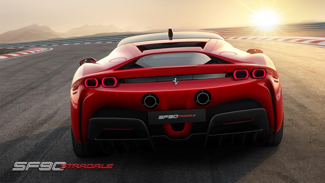 Scheda tecnica di Ferrari SF90 Stradale