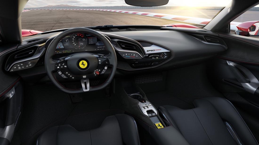 Strumentazione di Ferrari SF90 Stradale