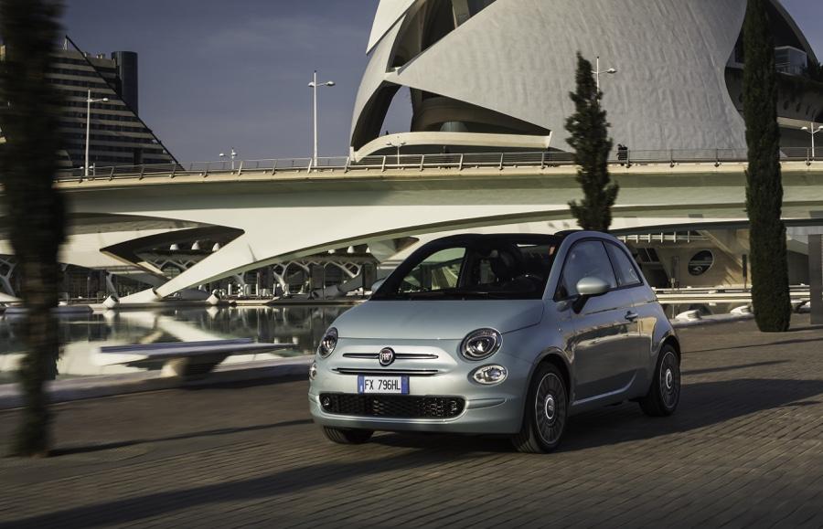 Fiat 500 Hybrid Launch Edition