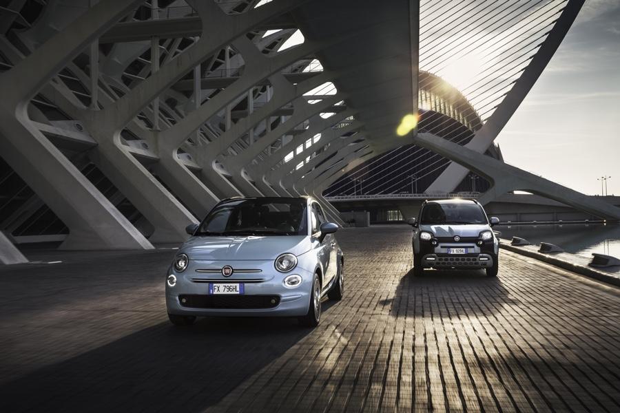 Fiat Panda e Fiat 500 Hybrid 2020