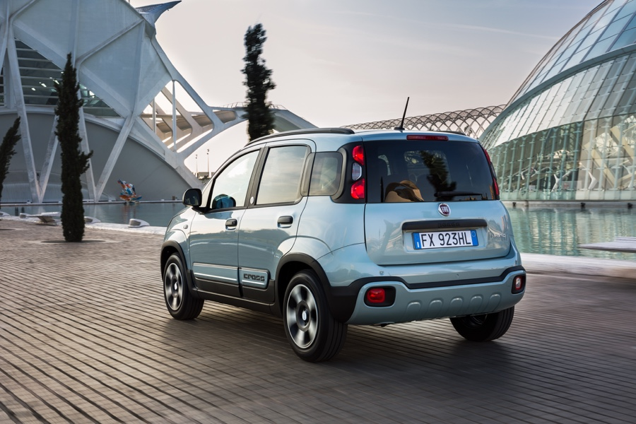 Fiat Panda ibrida con BSG