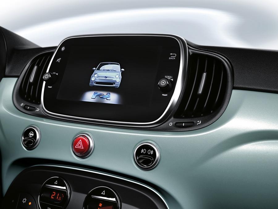 Infotainment Fiat 500 Hybrid