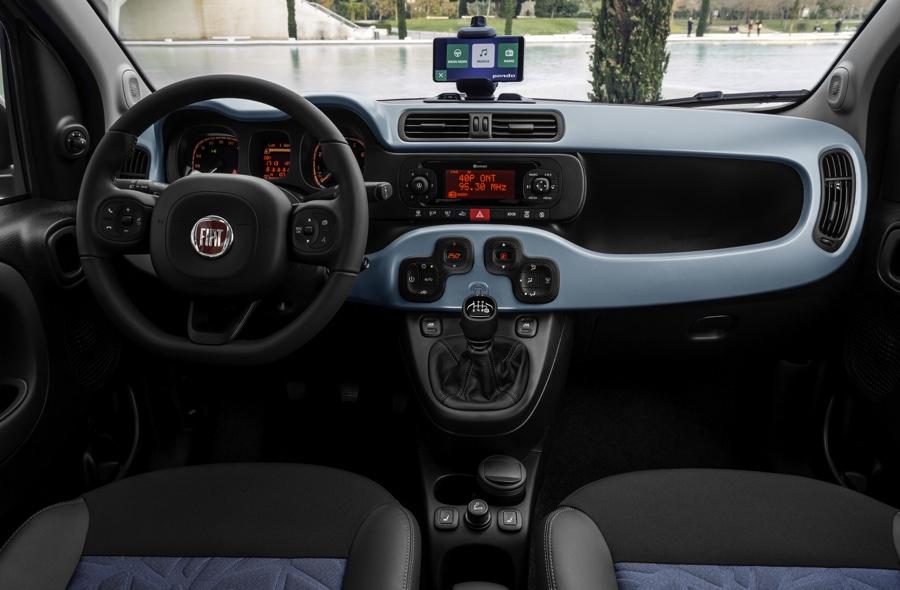 Interni di Fiat Panda Hybrid