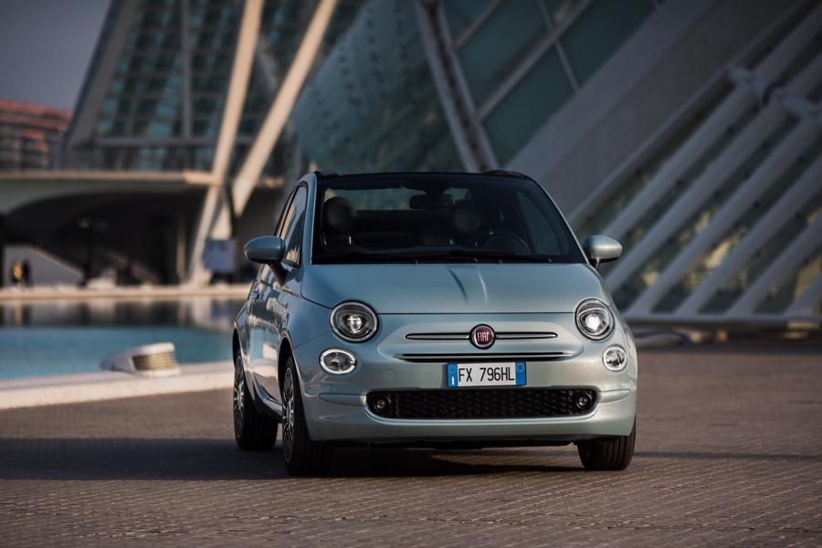 Nuova Fiat 500 C Hybrid 2020