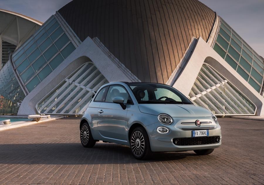 Nuova Fiat 500 ibrida