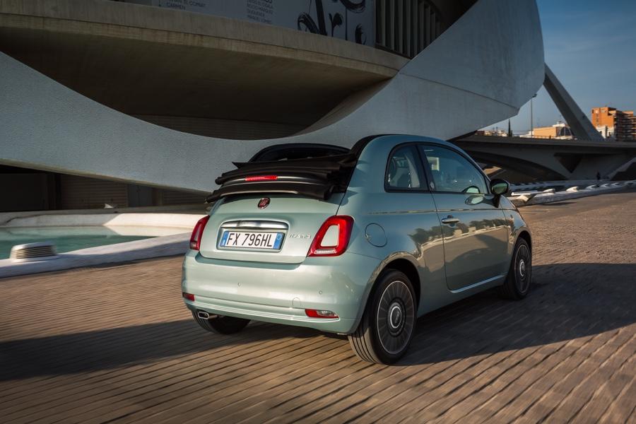 Uscita di Fiat 500 Hybrid