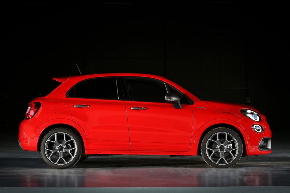 Cerchi da 19 di Fiat 500X Sport