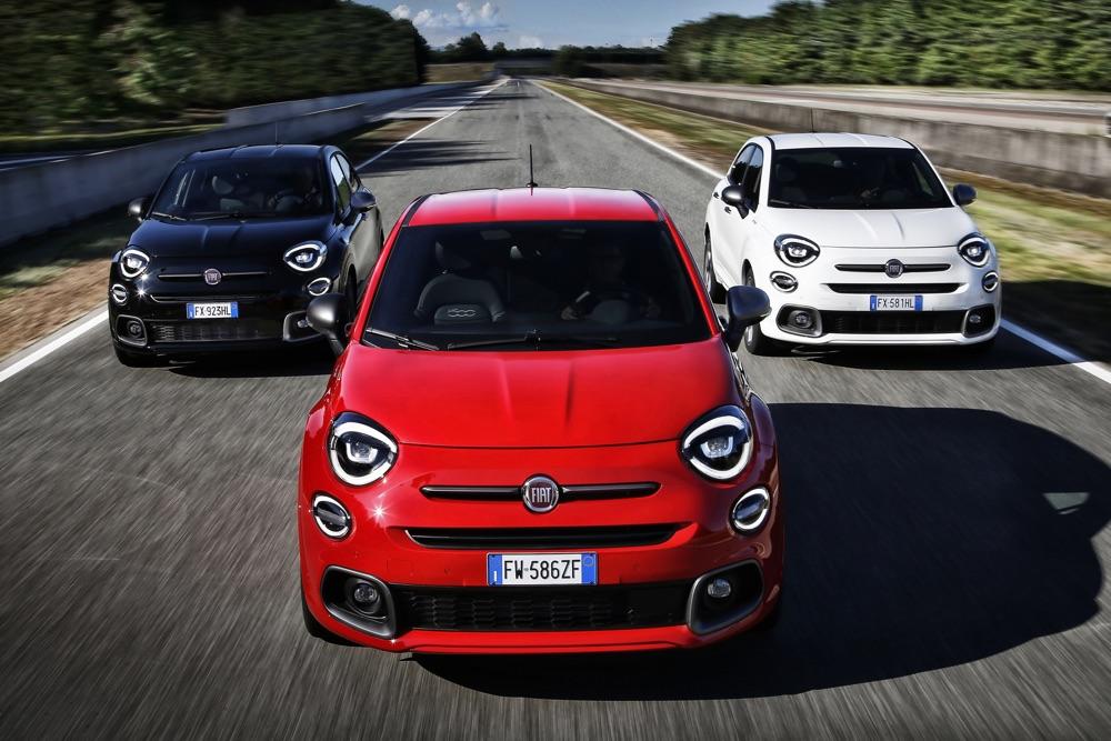 Colori di Fiat 500X Sport
