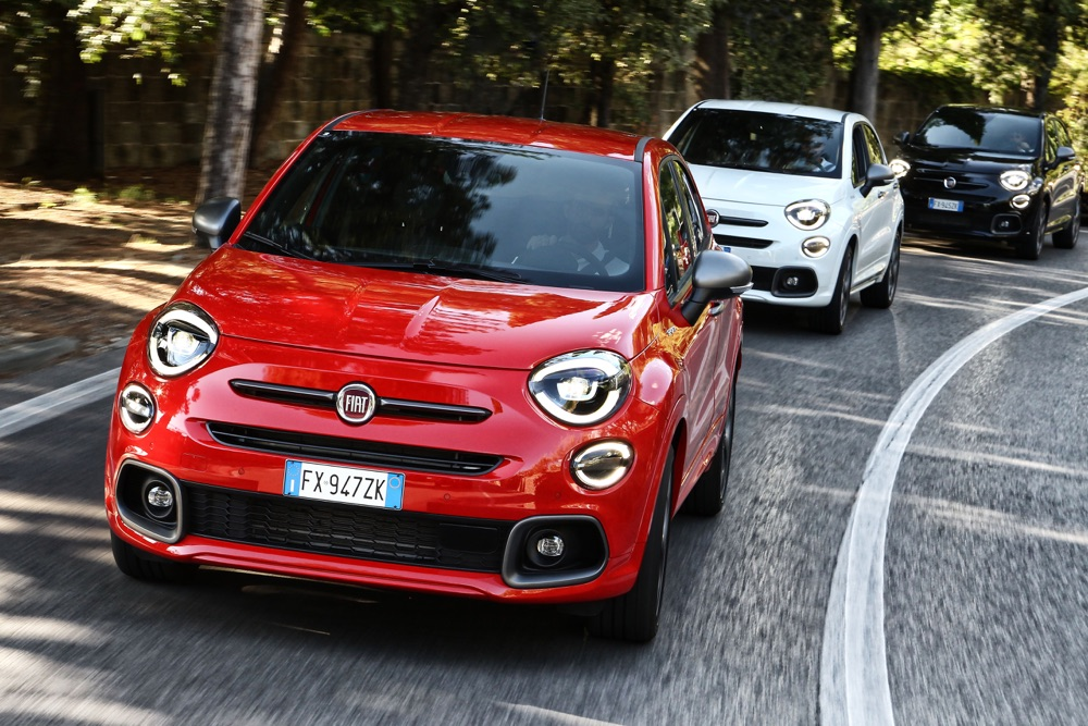 Fari full led su Fiat 500X Sport
