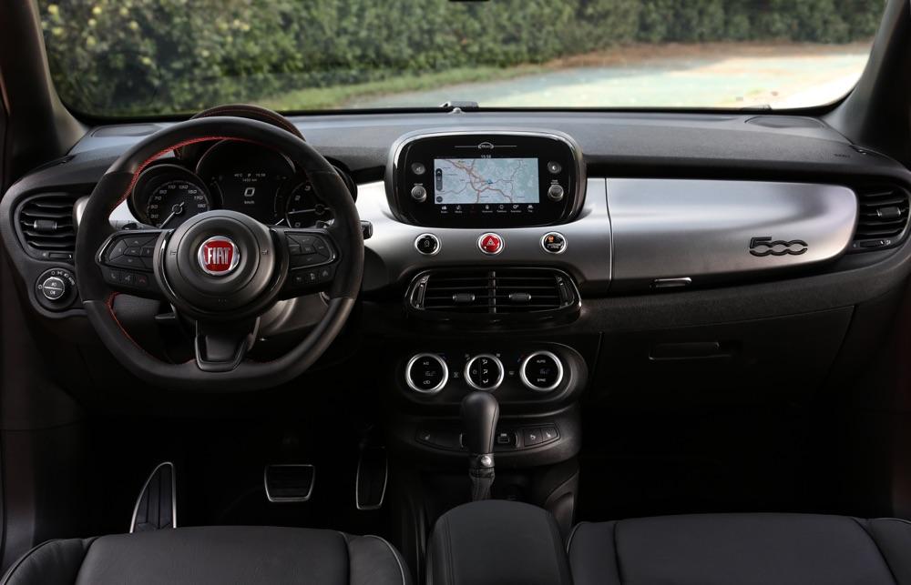 Interni di Fiat 500X Sport