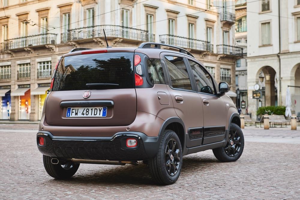Fiat Panda Trussardi marrone opaco