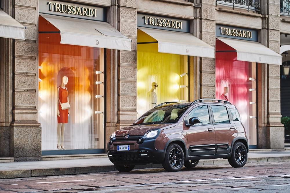 Serie speciale Fiat Panda Trussardi