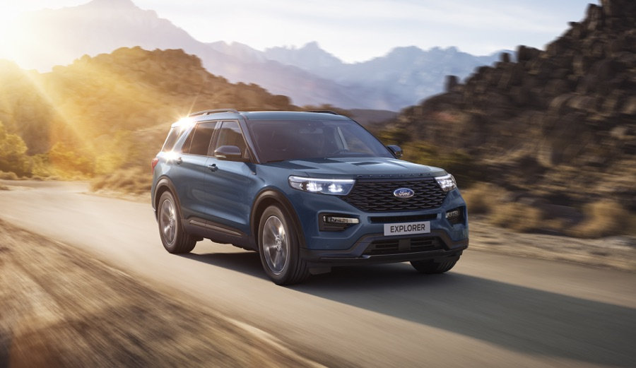 Ford Explorer ibrida plug-in