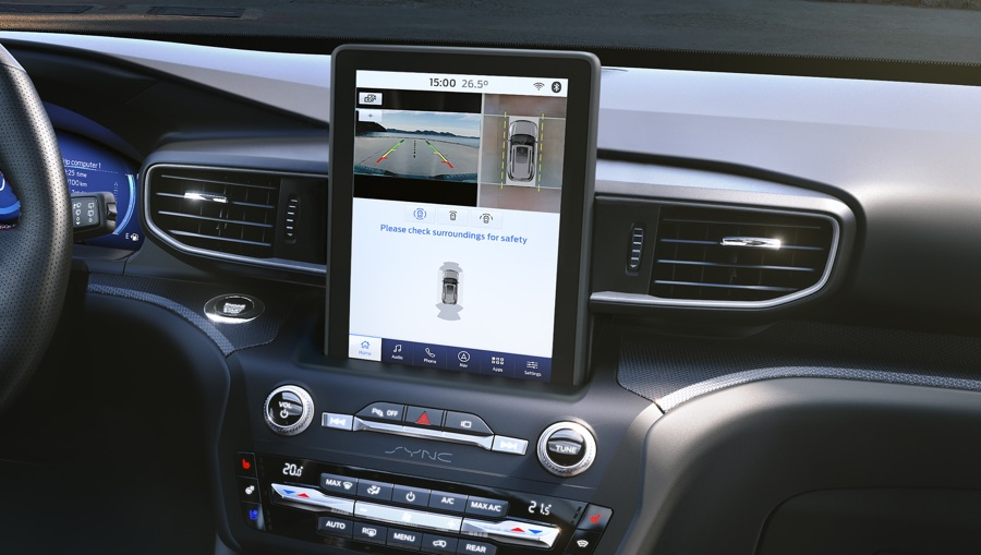 Infotainment di Ford Explorer
