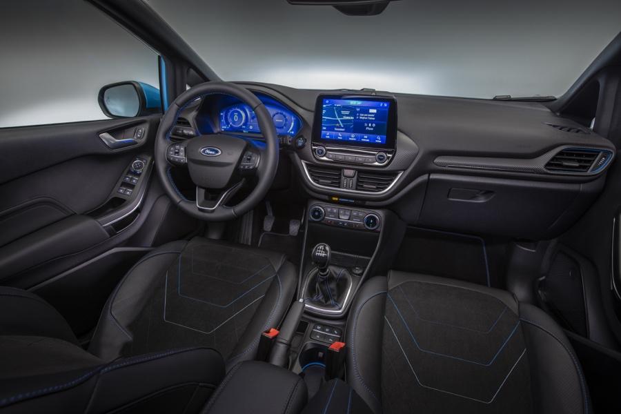 Abitacolo di Ford Fiesta restyling