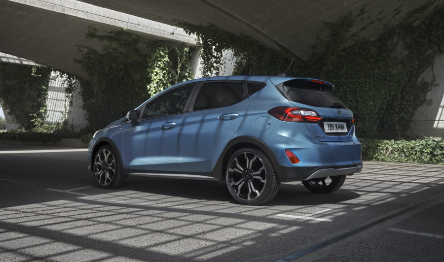 Ford Fiesta Active restyling
