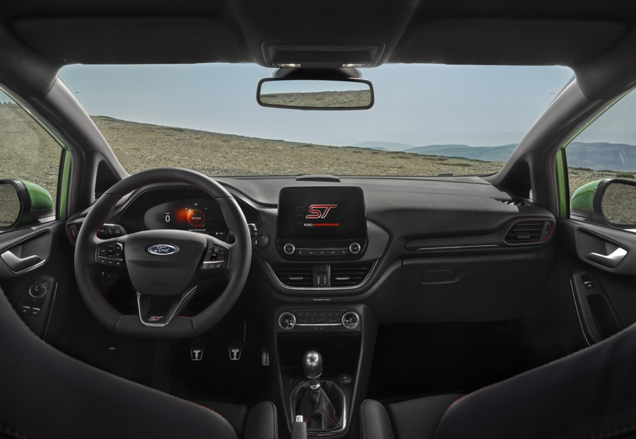 Ford Fiesta restyling interni