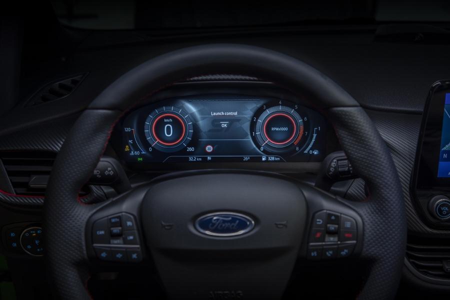 Ford Fiesta restyling strumentazione