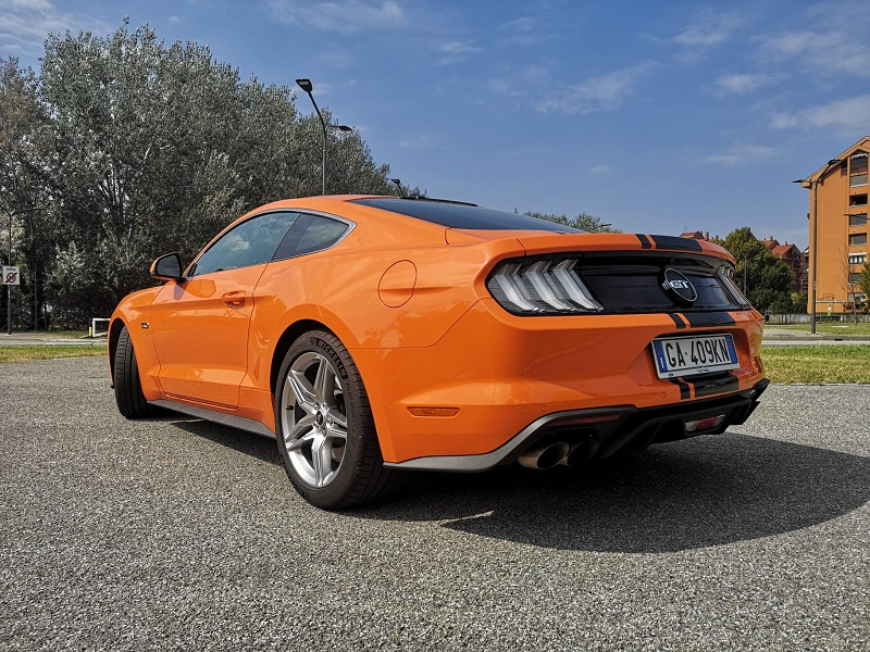 Ford Mustang GT500 esterni