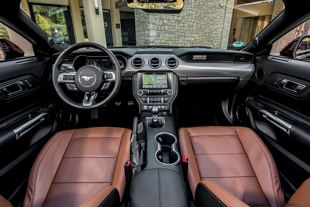 Ford Mustang GT500 sedili