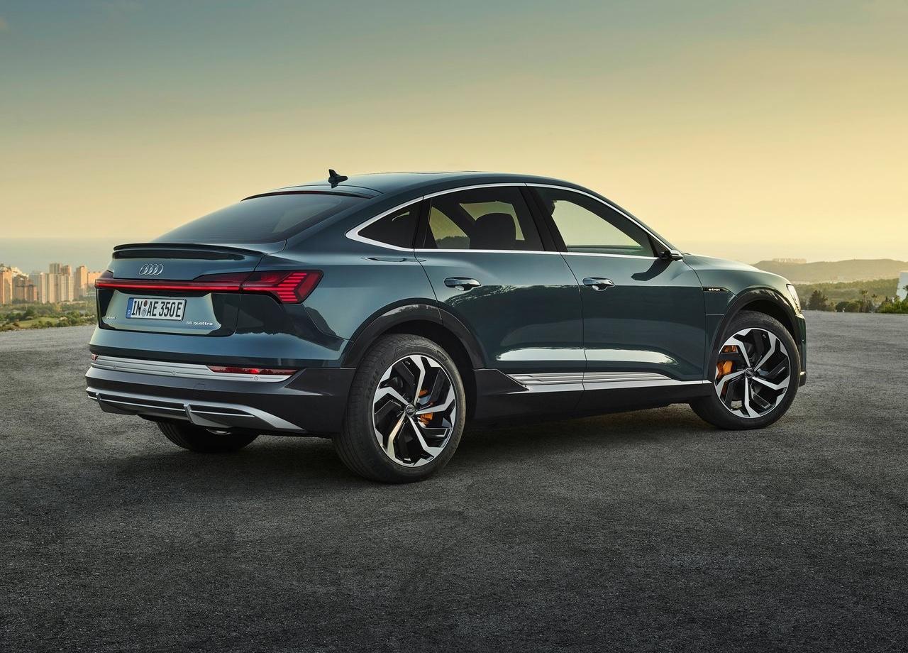 Caratteristiche di Audi e-tron Sportback