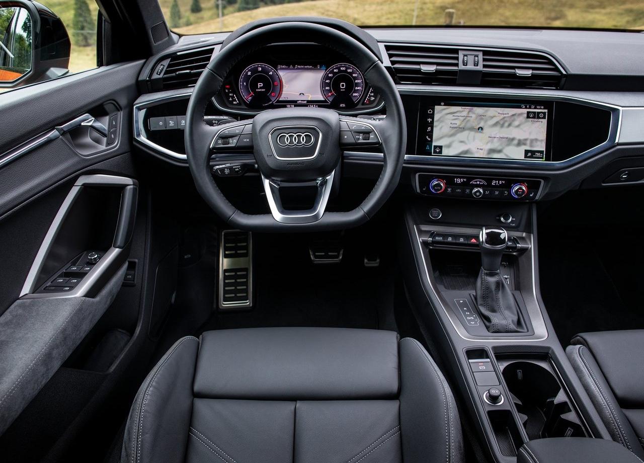 Interni di Audi Q3 Sportback