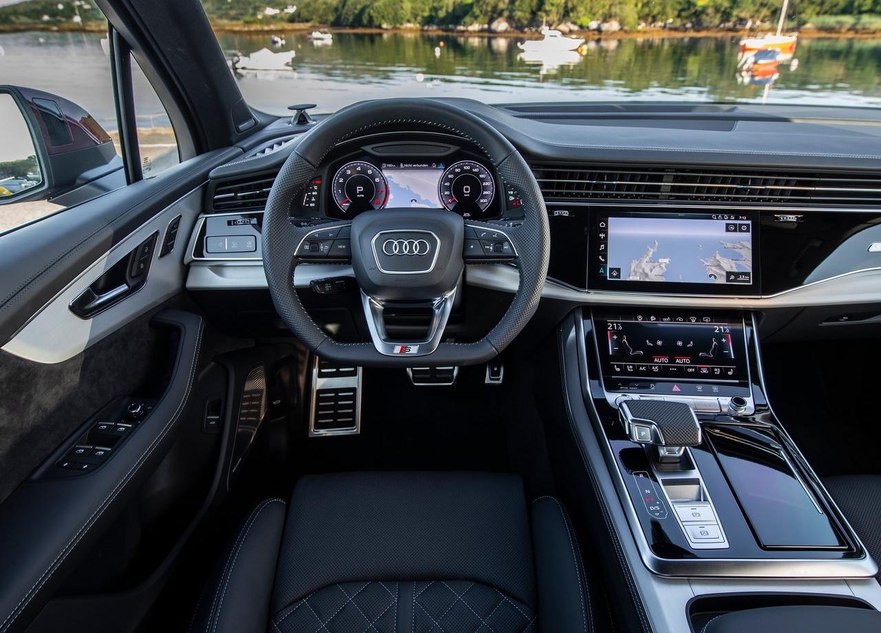 Interni di Audi Q7