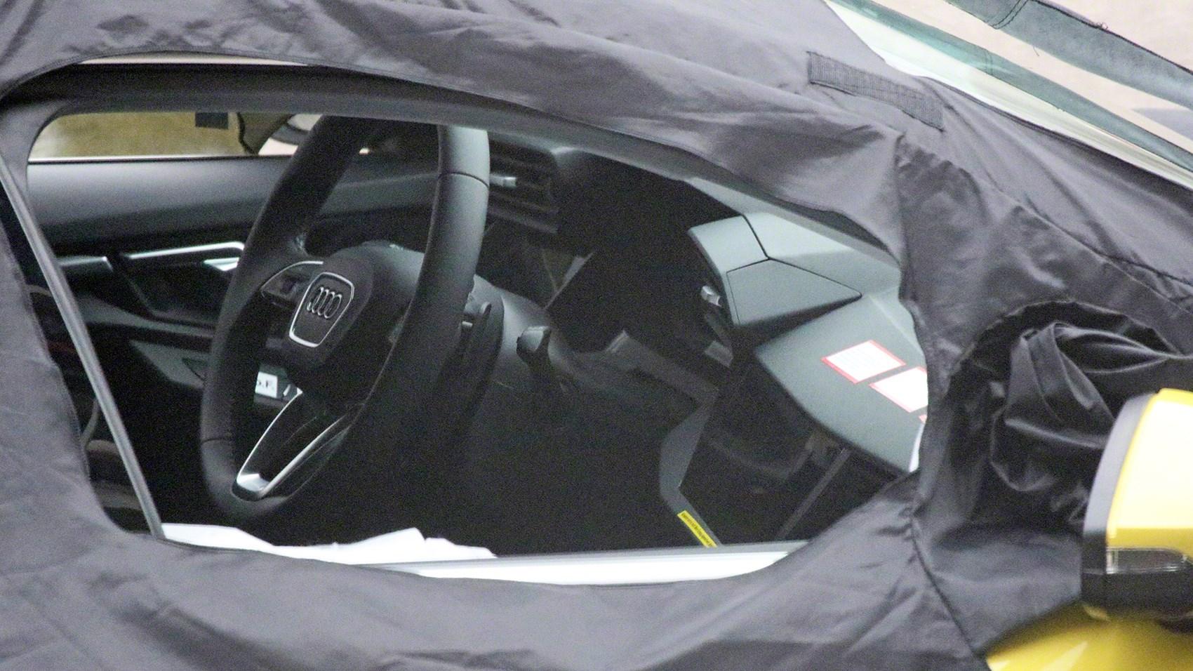 Interni di Nuova Audi A3 2020