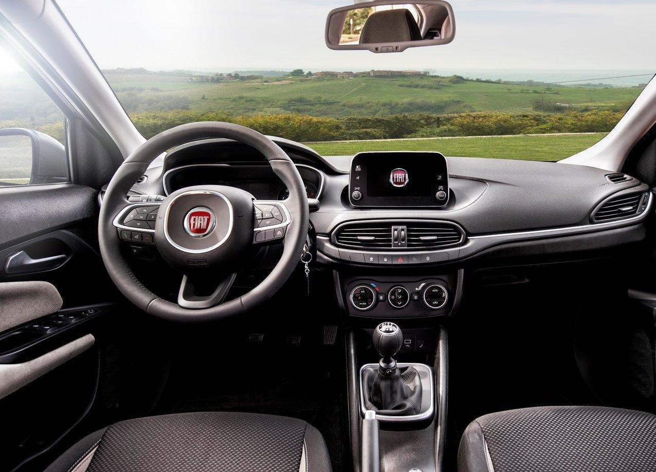 Interni di Fiat Tipo
